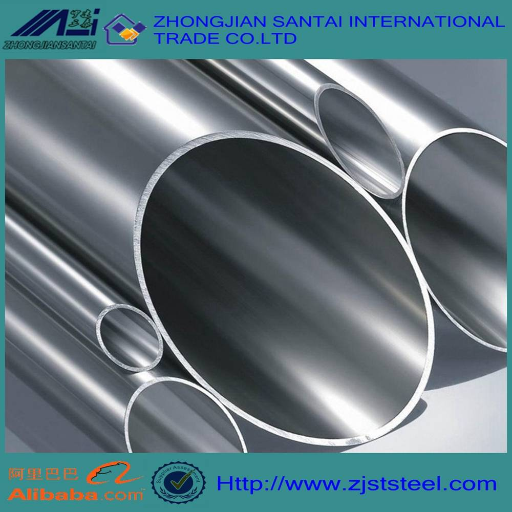 ASTM A554 stainless steel pipe in grade 304 price per metet