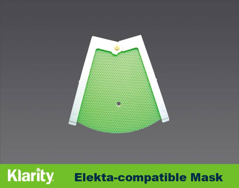 Compatible with Elekta iCast Precut Thermoplastic Mask