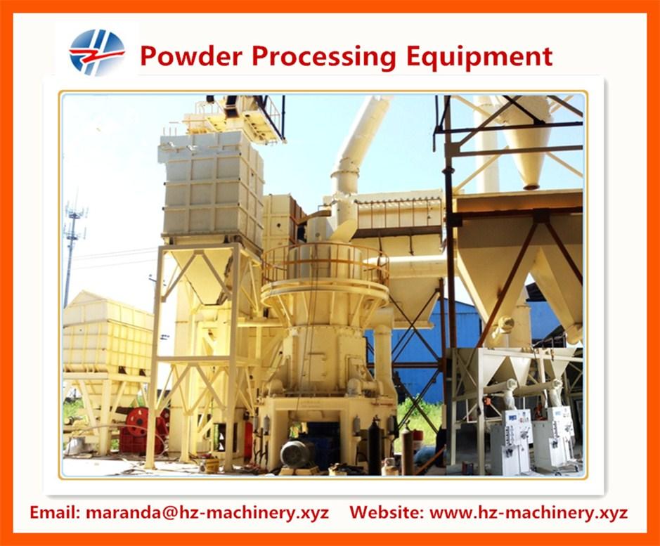 Powder Processing Equipment---- talc, calcium carbonate, carbon black, kaolin, bentonite, mica