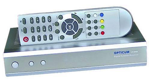 globo/opticum 4100c USB/PVR STB set top box digital satellite receiver