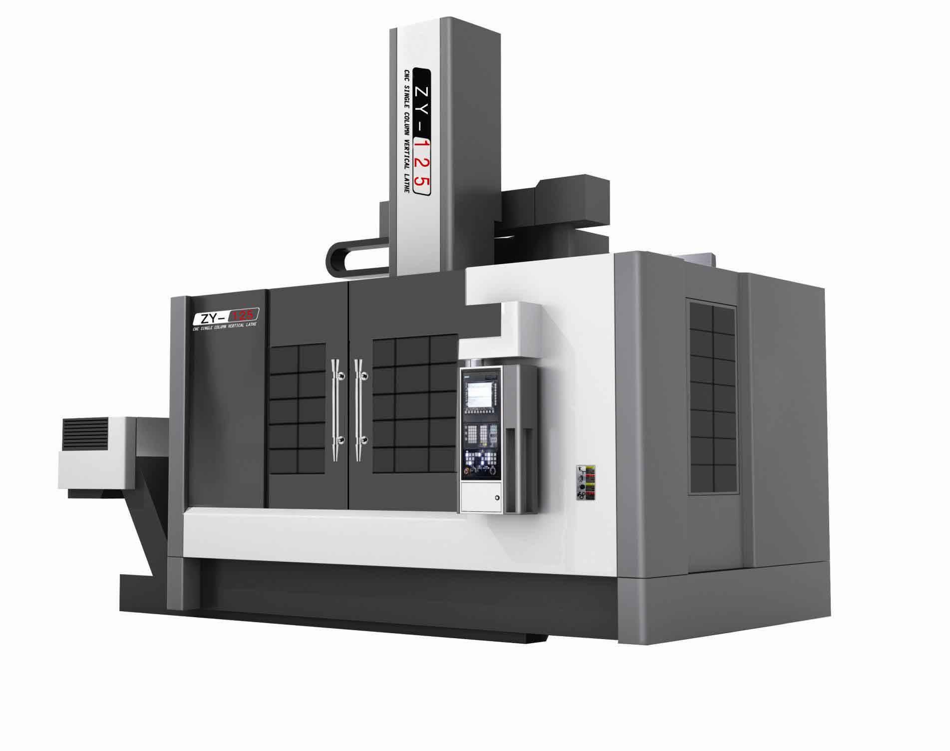 China Good Price High Quality CNC Single Column High Speed Vertical Lathe Machine