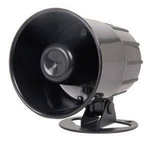 HOT SALE 12V single tone/6-tone 20W Universal ELECTRONIC ALARM SIREN S35,Loud electronic emerecy