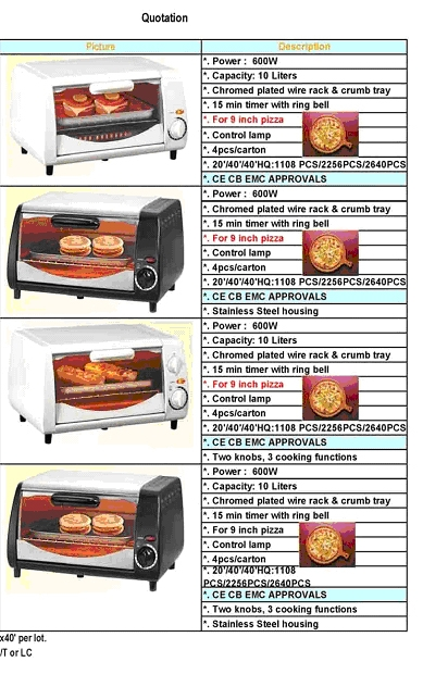 ELECTRCAL TOASTER OVEN