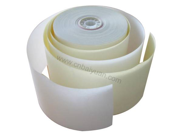 2plys NCR carbonless paper roll