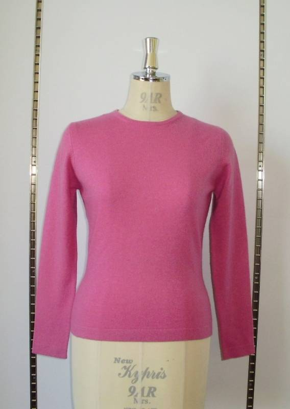 Cashmere Sweaters, Crew Neck Cashmere Sweater