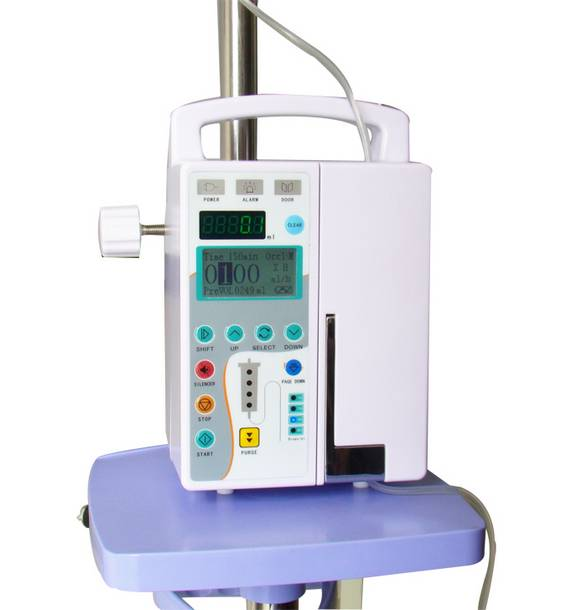 Sell infusion pump with drug library