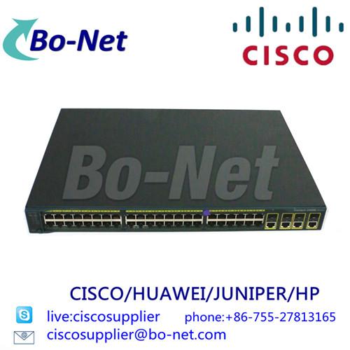 CISCO WS-C2960G-48TC-L network switches Cisco select partner BO-NET