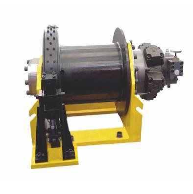 hydraulic winch for crane, drilling rig, dredger