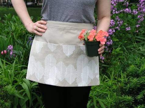 Linen Gardenning apron