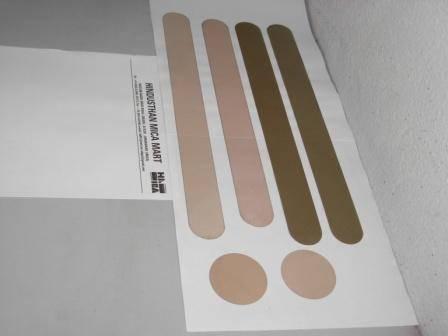 Mica shields, strips, discs, plates, washers