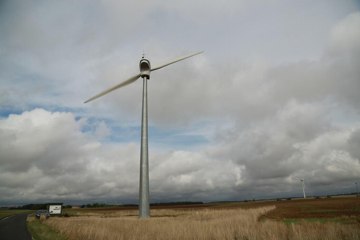 Wind Turbine Tubular Poles Towers