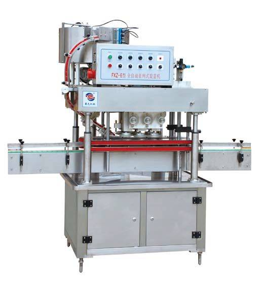 FXZ-6 Automatic In-line Screw Capping Machine