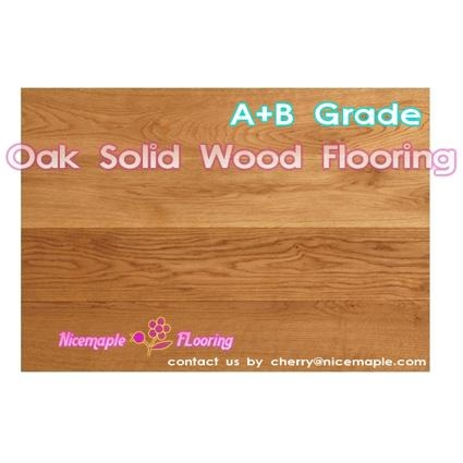 Oak Ash,maple,solid wood flooring