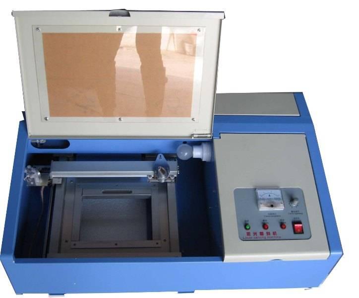rubber stamps laser engraver 40w