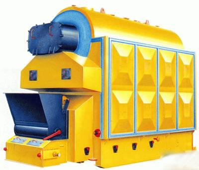 Coal-fired grate boiler