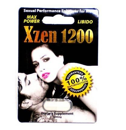 Xzen 1200 Sex Pills Male Sex Driver