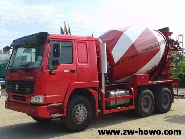 howo 6x4mixer truck