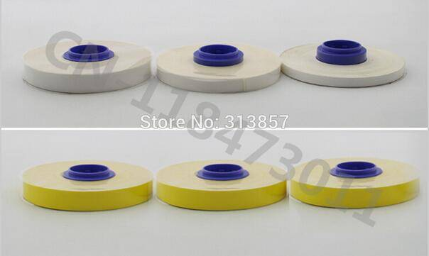 Heat shrink Tube Printer White Label Tape Core TM-1106W For Cable Marker ID Printer MK1500 M-1PRO M
