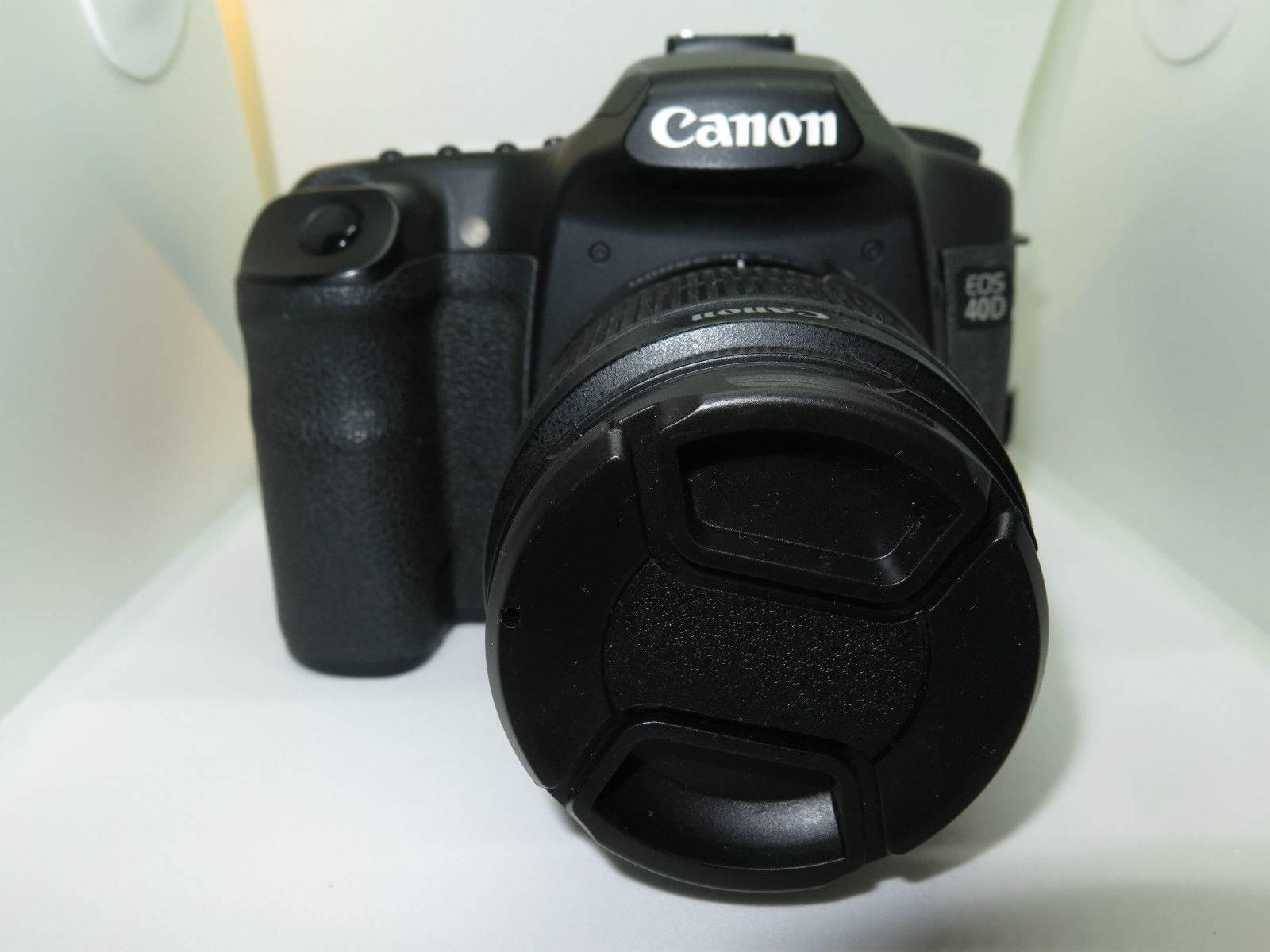 Canon EOS 40D 10 MP Digital Camera body +Canon 18-55 IS Lens +16gb