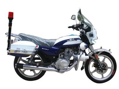 Supply Police Motorcyle WJ125-6J with Suzuki JV Engine