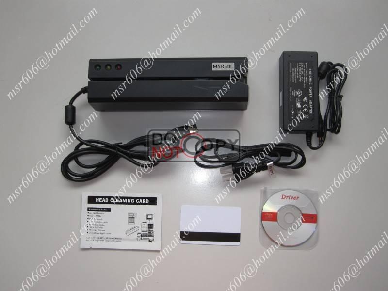 MSR606 Magnetic card Reader/Writer Msr206 Encode