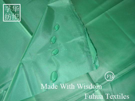 210T PU Coated Taffeta with W/R