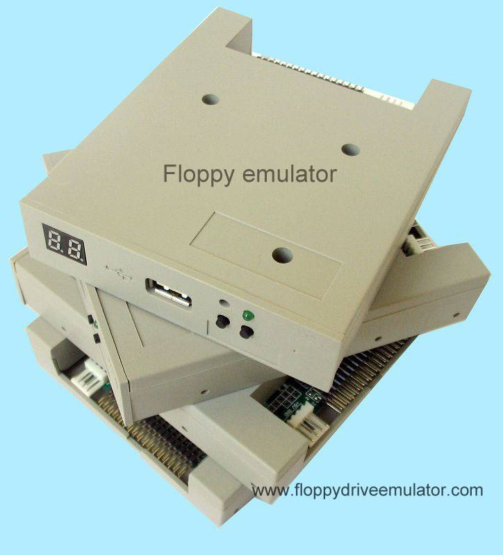 floppy driver emulator for robot CNC quilting machines