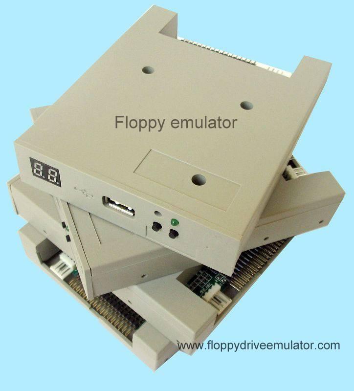 floppy driver emulator for robot CNC quilting machines