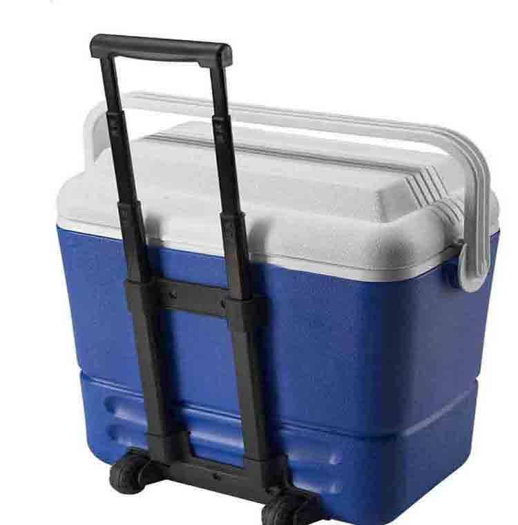 16L plastic environmental fishing cooler box