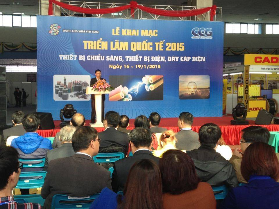 International wire and cable fair vietnam 2015