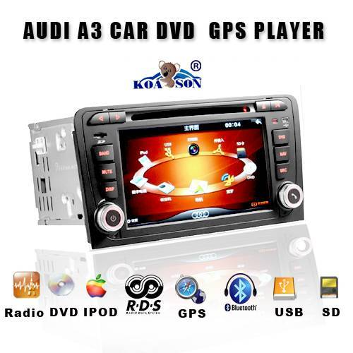 Car DVD Player for AUDI A3 with GPS Bluetooth
