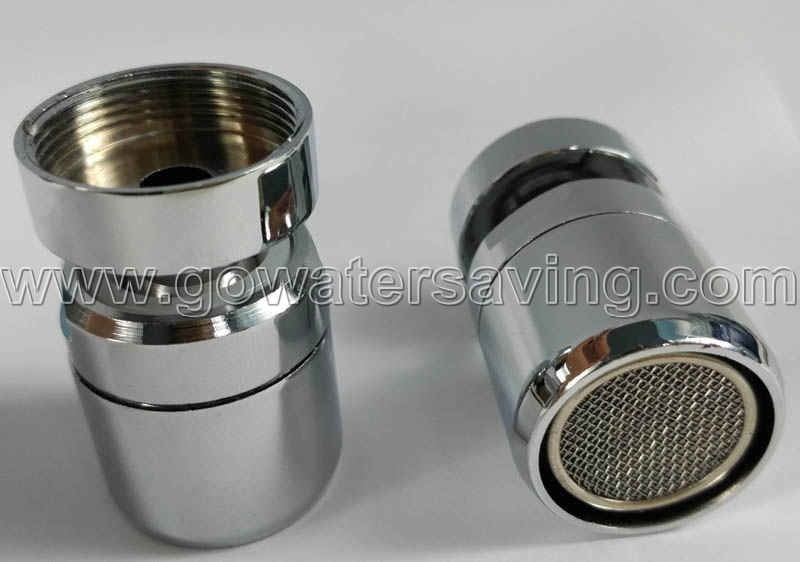 F22 Female thread 360 degree swivelling faucet aerator