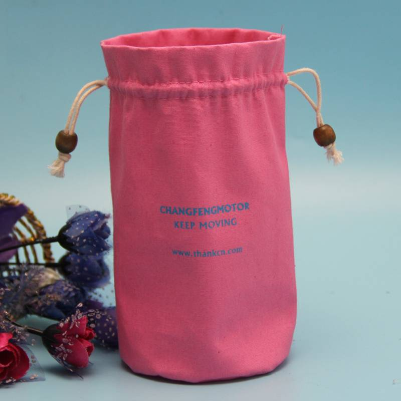 red color round bottom wine bottle packing bag