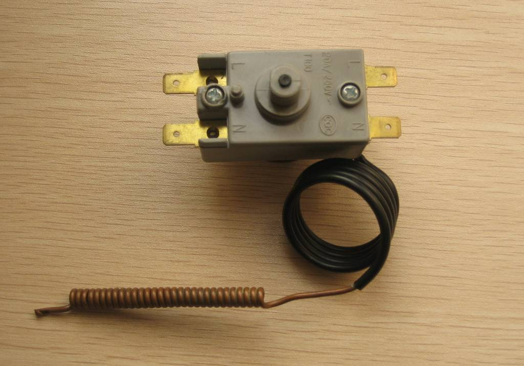 Capillary Thermostat with UL approved