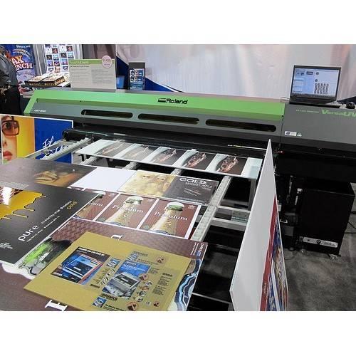 New Roland VersaUV LEJ-640 64 inch Hybrid UV-LED Flatbed Inkjet Printer