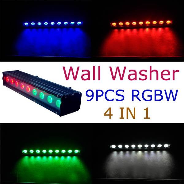 stage light wall washer 93w rgb