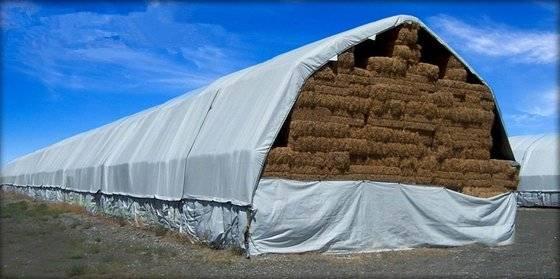 Hay Tarp, Hay Cover, Hay Stack Cover