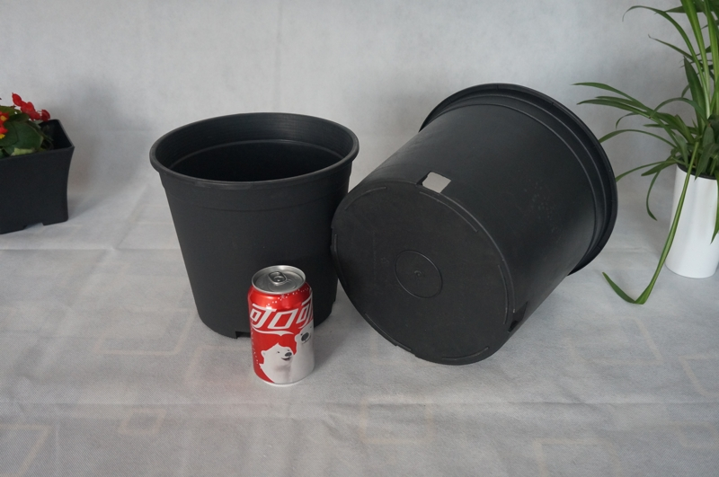 Wholesale Outdoor Nursery Pots,PP Plastic Flower Pots, Gallon Pots