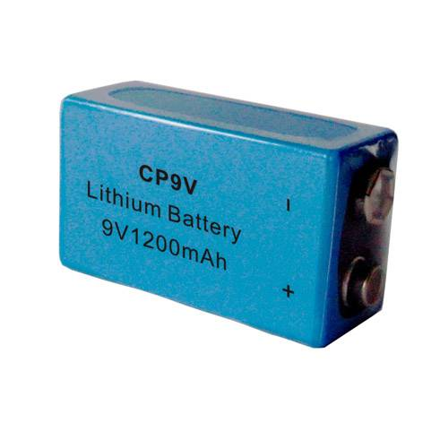 CP9V 1200mAh 9V LiMnO2 soft-packed primary battery for smoke detector