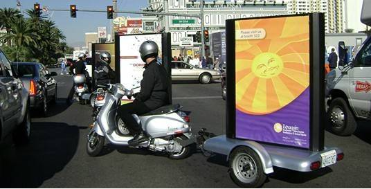 Scooter Advertising