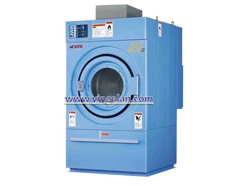 dryer of gas heating