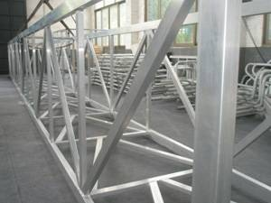 HL-009 Aluminum Alloys Frame With High Load-Bearing