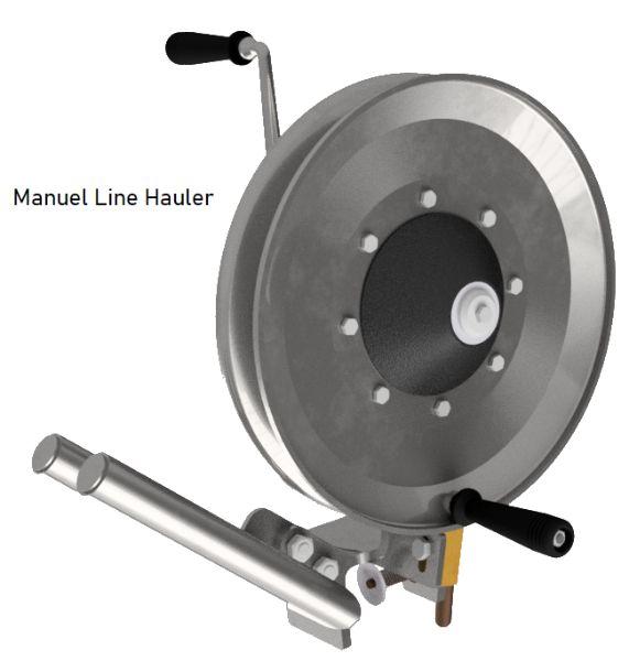 Manuel line hauler