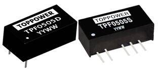 1W Isolated Regulated Single Output DC/DC Converters