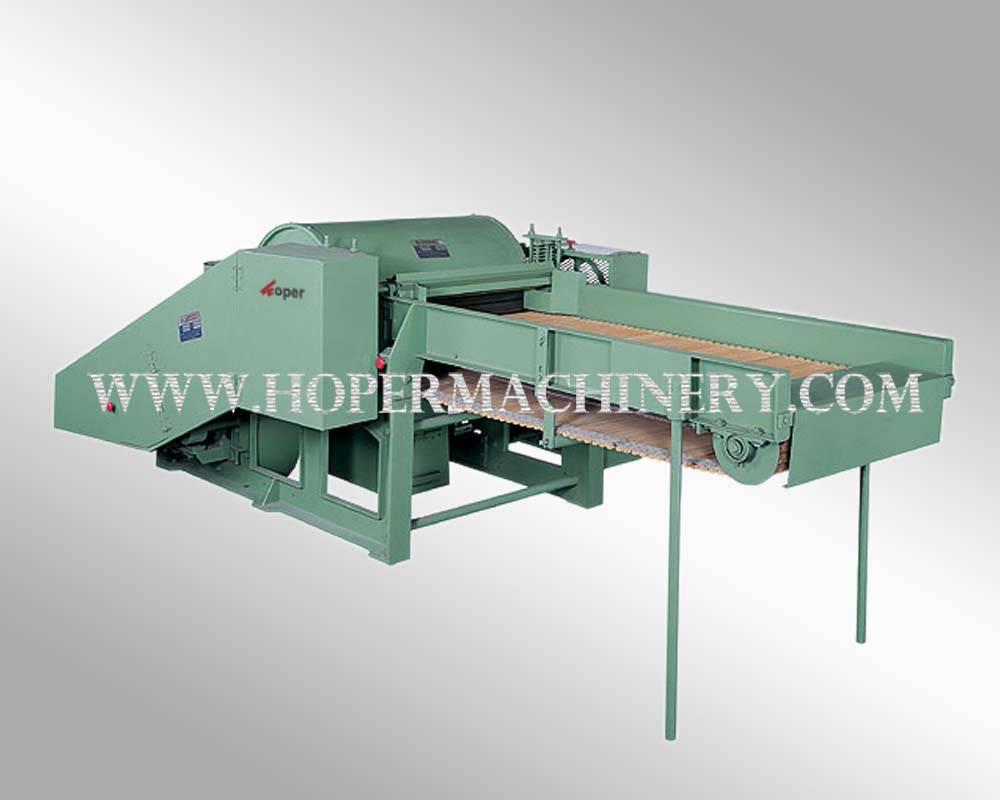 Fabric opening machine