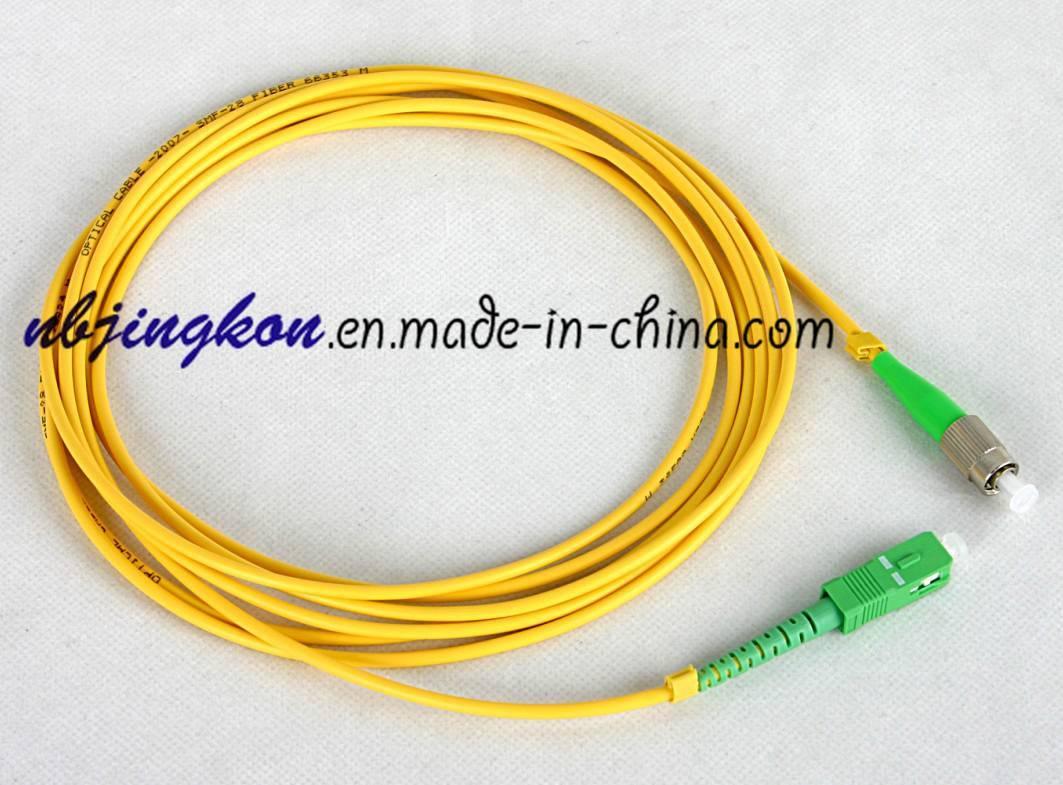 FC/APC-SC/APC Patch Cord-3.0mm