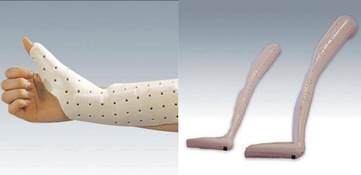 Thermoplastic splint (Yogis)