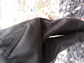 Man grey trousers