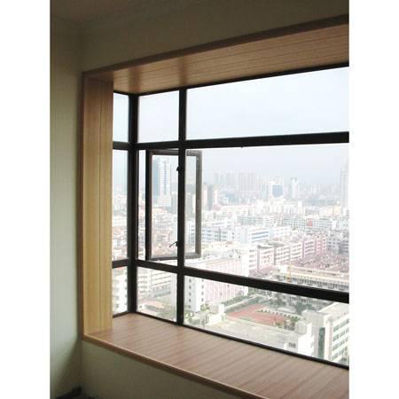 Wood Plastic composite window frame decoration