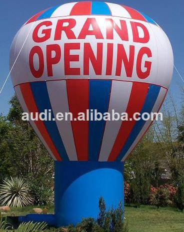 Advertising Inflatable Ground balloon,hot air shape balloon